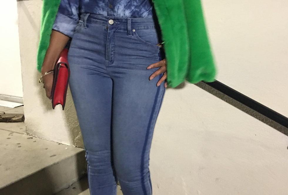 2 Stripe Denim Jeans