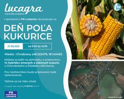 Deň poľa kukurice Ludanice - ďakujeme za účasť.