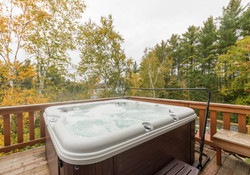 Amazing views from hot tub