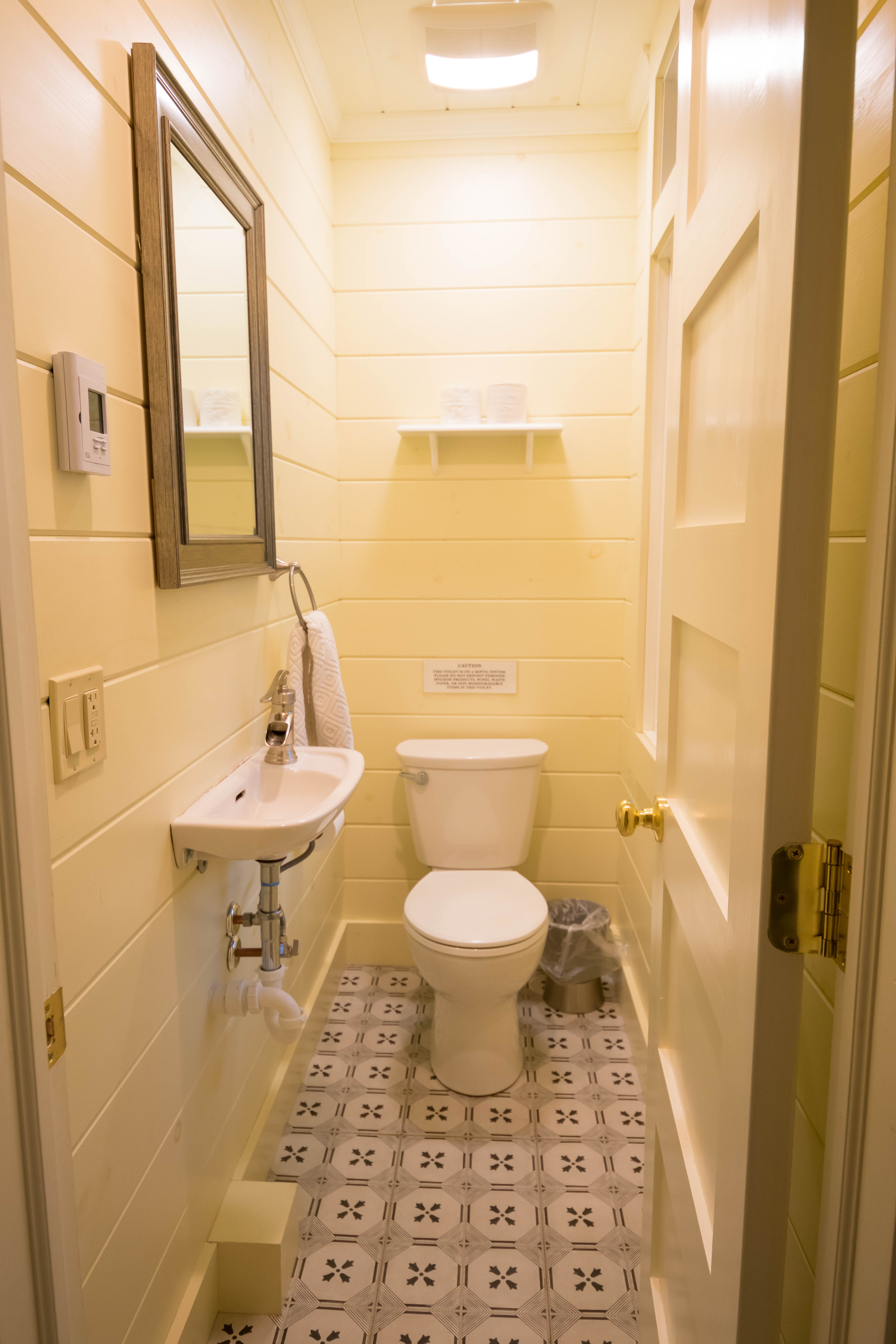 Half Bathroom, 1st Floor