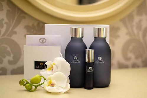 Allumi Purity Organic Body Oil, Shower Oil & Wand Gift Set