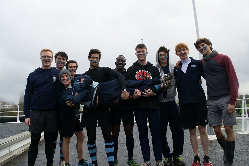 Men's A crew at Nephthys Regatta
