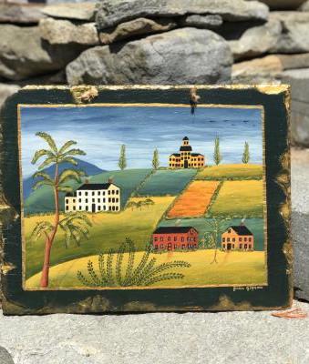 Village 14x18 Selling price $85.00
