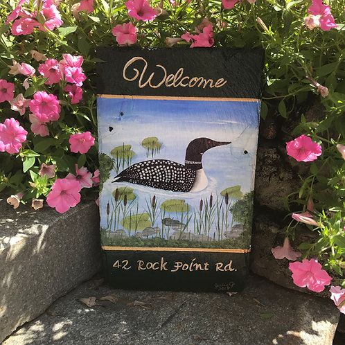 #2 Welcome Personalized Loon