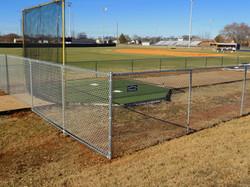 Baseball Field Chain Link Fence