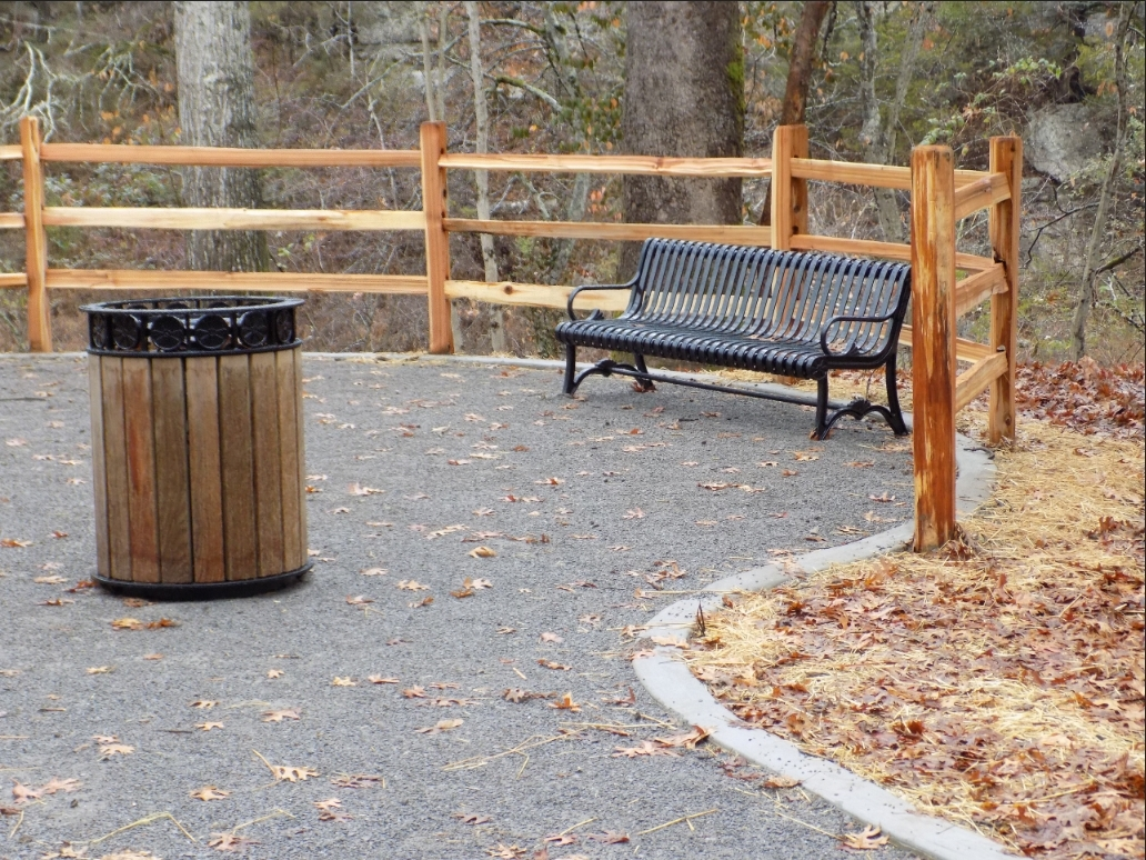 3-Rail Split Rail Wood Fence