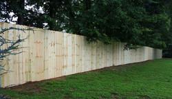 7' Dog Ear Wood Privacy