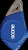 Badge bleu mifare Soone