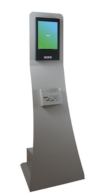 Tableau écran digital numérique sur borne SOONE