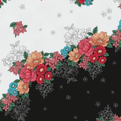 Floral Barrado