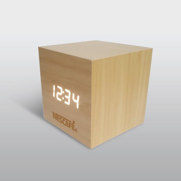 네스카페 탁상시계