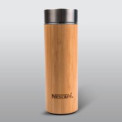 네스카페 대나무텀블러