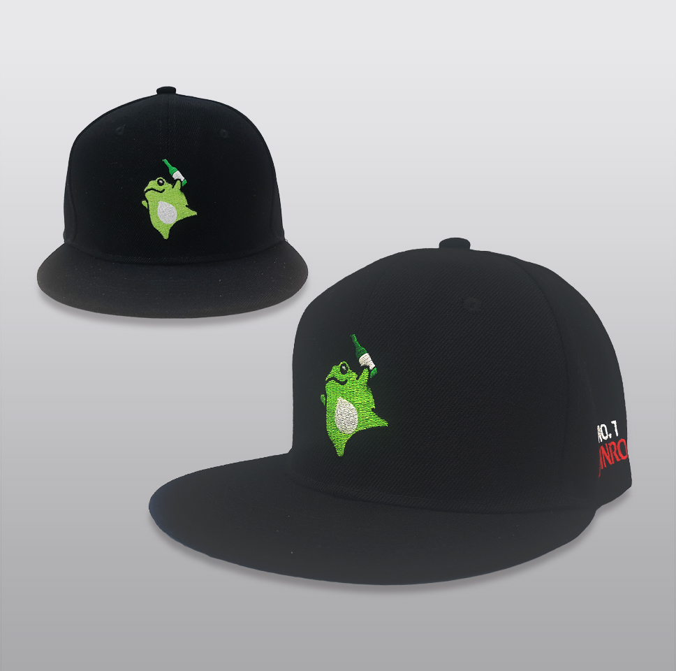 하이트진로 스냅백 모자(Black)