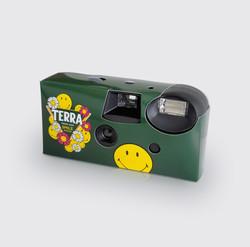 하이트진로 테라x스마일리 일회용카메라