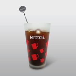 네스카페 변색유리잔