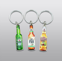하이네켄, 애플폭스, 데스페라도 오프너 열쇠고리