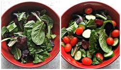 Mogos' Big Salad, You Top!