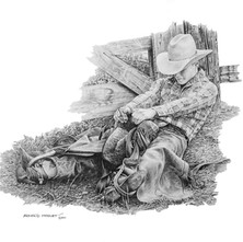 """'When Things Have To Be Just Right' - 22""""x 30"""" - Graphite. (#0748) $1,925.00 unframed."""