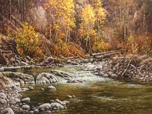 """'Autumn Afternoon' - 18""""x 24"""" - Oil. SOLD."""