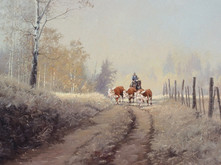 """'Road To Home' - 24""""x 30"""" - Oil. SOLD."""