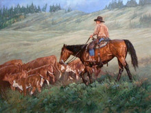 """'Quilchena Turnout' - 14""""x 18"""" - Oil. SOLD."""
