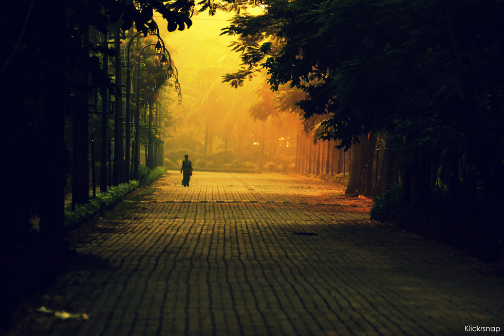 Life sometimes demands us to walk alone