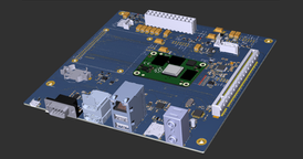 Over:Board with The Raspberry Pi 4 Compute Module