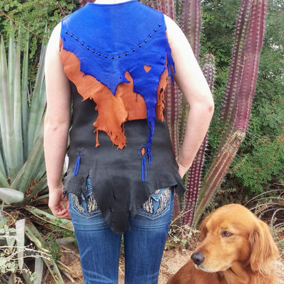 Double Flap Rustic Vest