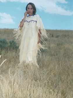 Traditional Deerskin Dress