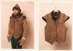 Rick Wearing Sheepskin Products