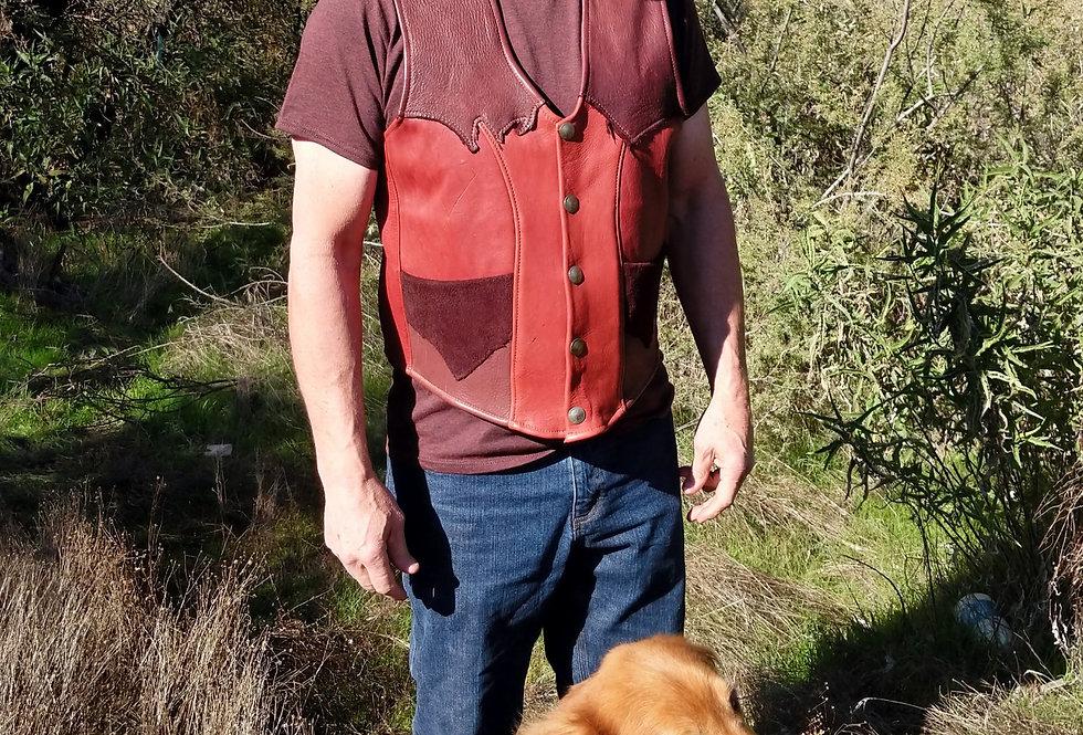 Rustic Elk Mens Vest
