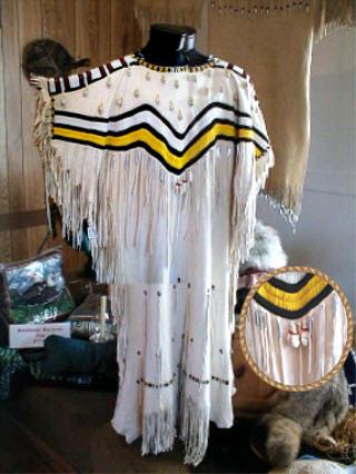Beaded Indian Dress