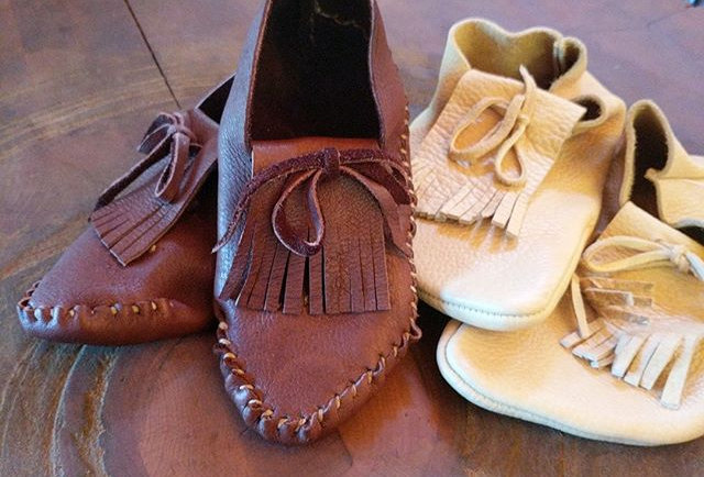 Moccasins - Salish Native American Style