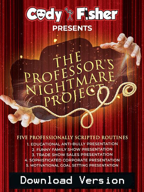 The Professor's Nightmare Project Download