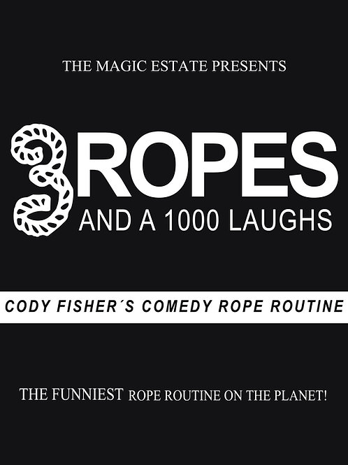3 Ropes & 1000 Laughs DVD / Cody's Comedy Rope Routine