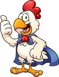 super-chicken-cartoon-vector-illustratio