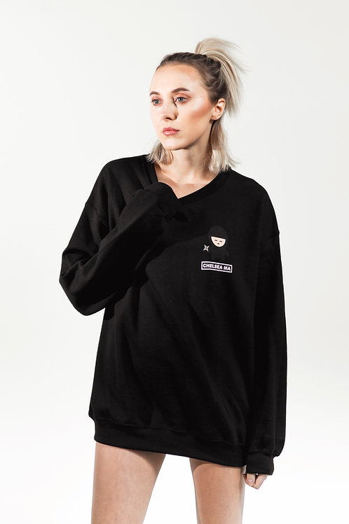 Black Ninja Sweater