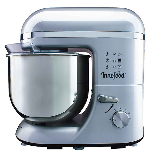 Innofood KT609 Stand Mixer 6.5 Liters (SILVER)