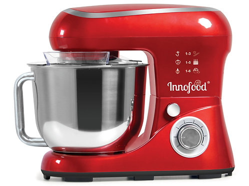 Innofood KT580 Stand Mixer 5.5 Liters (Red)