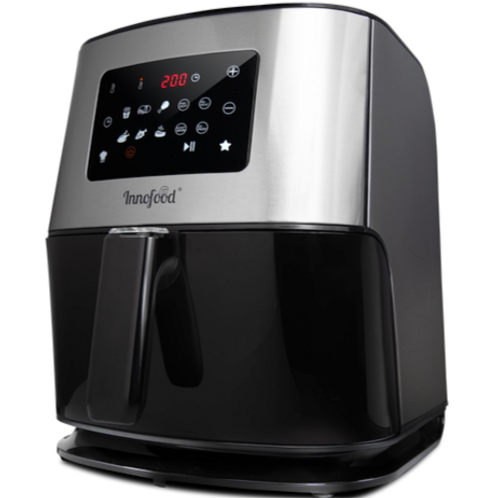 Innofood KT-AF06XL Digital Touch Panel Large Jumbo Air Fryer 6.0 Liters