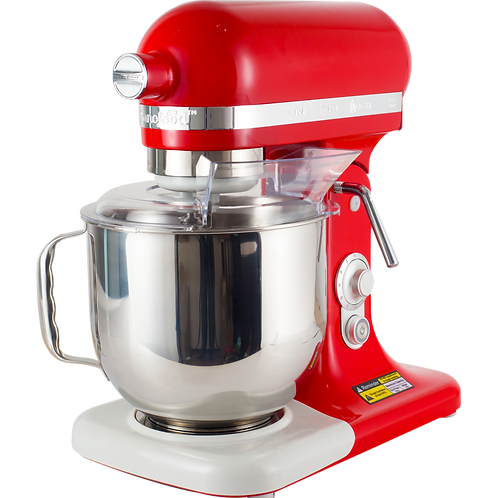 Innofood KT-7500 Professional Series Stand Mixer 7.0 Liters (RED)