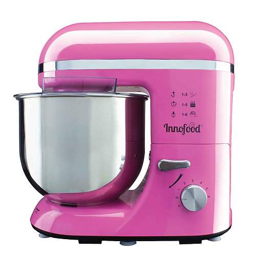 Innofood KT-609 Stand Mixer 6.5 Liters (PINK)