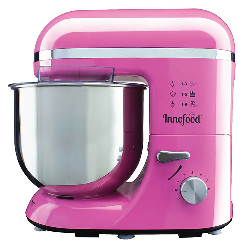 Innofood KT609 Stand Mixer 6.5 Liters (PINK)