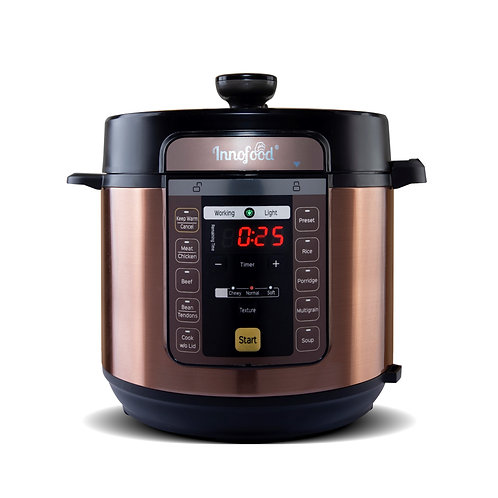 Innofood KT-PC06A HUGE CAPACITY 6.0L (6L) Pressure Cooker