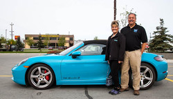 Dave & Yvonne Oliver 2017 718 Boxster S.