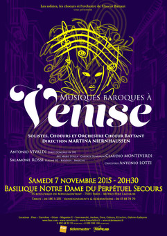 Concert Baroque venitien 2015