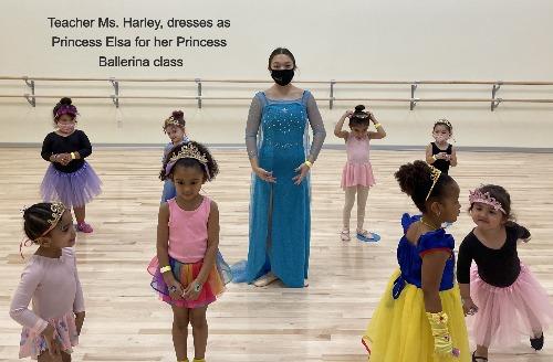 Ms. Harley's Princess Ballerina Class - Saturdays @ 11 am