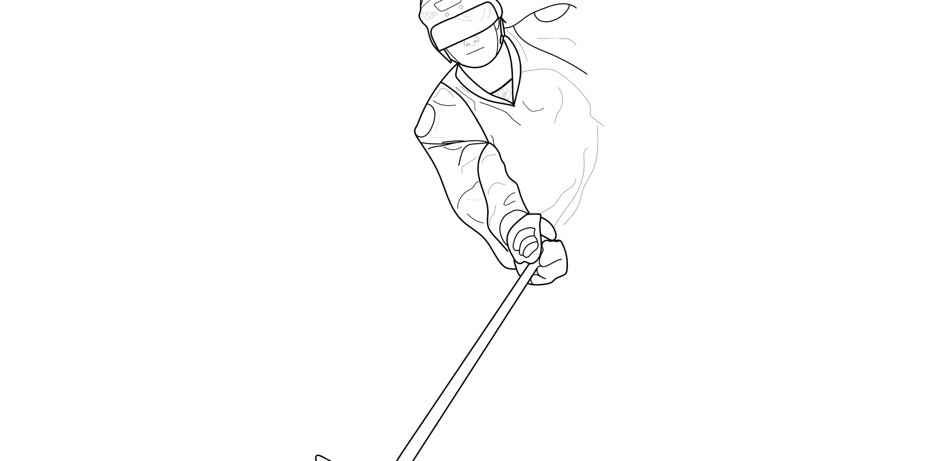 Hockey Sketch
