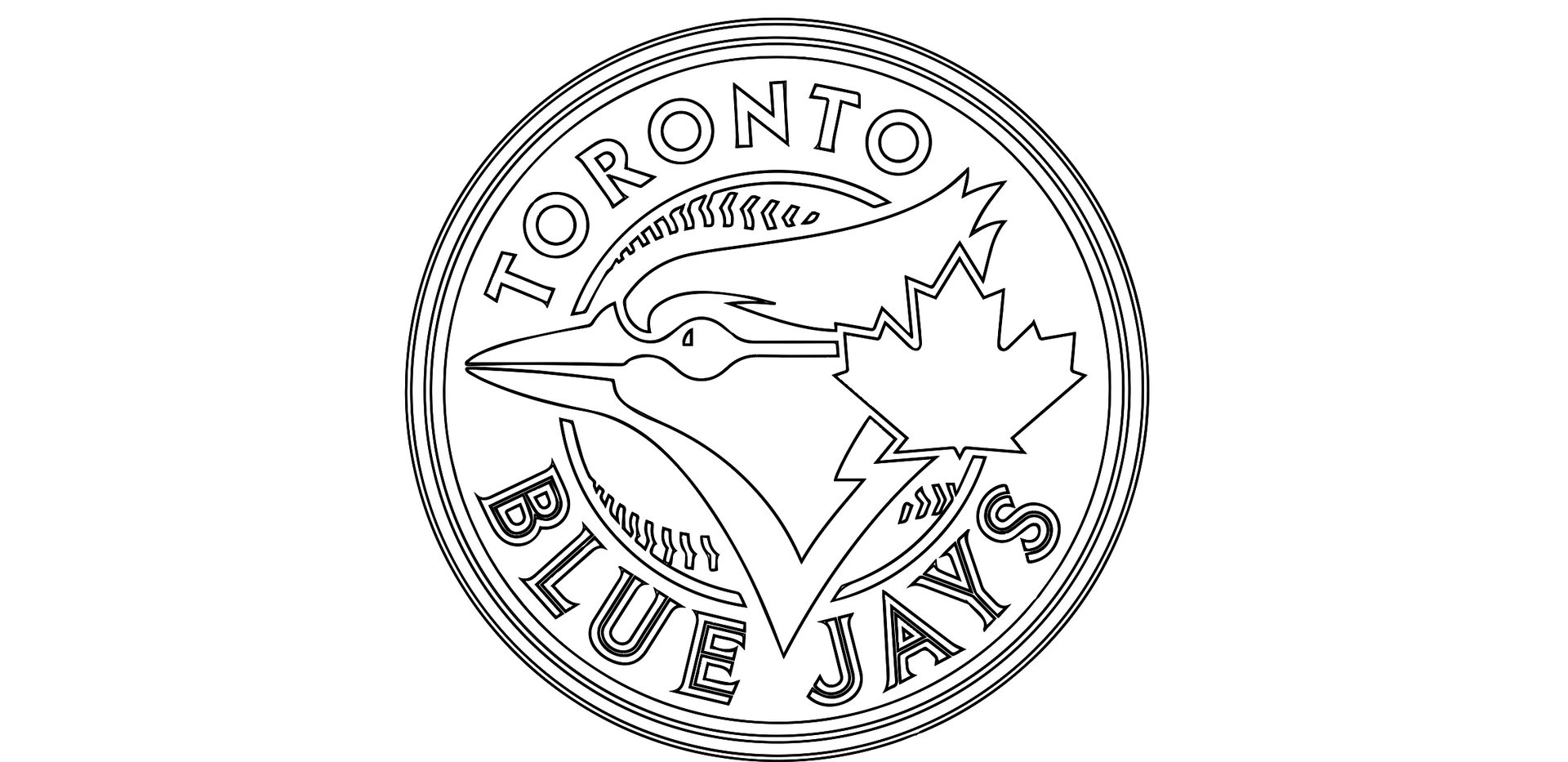 Toronto Blue Jays Logo Sketch
