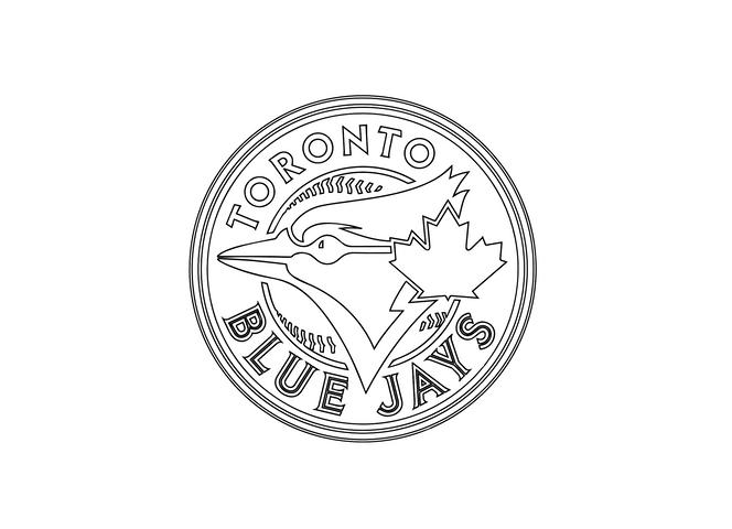 Toronto Blue Jays Logo Sketch
